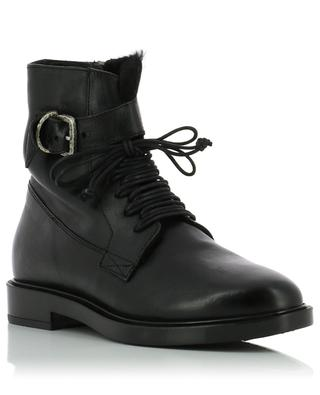 Todi padded leather ankle boots TRIVER FLIGHT