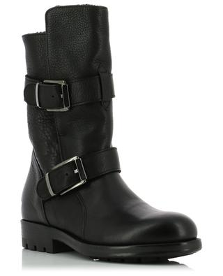 London padded grained leather ankle boots TRIVER FLIGHT