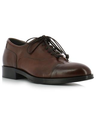 Todi smooth leather derby shoes TRIVER FLIGHT