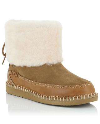 W Quinlin Fluff ankle boots UGG