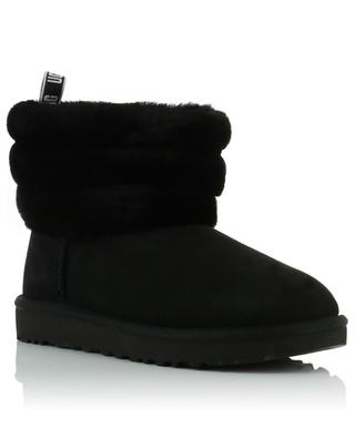 Fluff Mini Quilted shearling ankle boots UGG