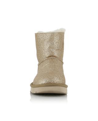 Bottines en tissu et peau lainée Mini Bailey UGG