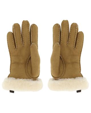 Shorty suede style sheep shearling gloves UGG