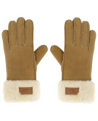 Handschuhe aus Schafsfell und -leder Turn Cuff UGG