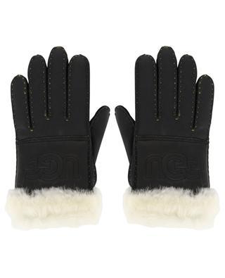 Handschuhe aus Schafsleder und -fell Logo Glove UGG