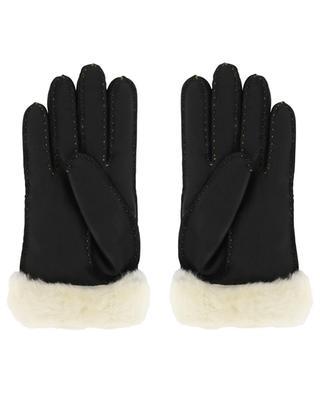 Gants en peau lainée Logo Glove UGG