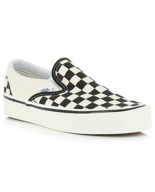 Baskets slip-on Anaheim Factory Checker VANS