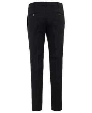 Pantalon à pinces en laine vierge WINDSOR
