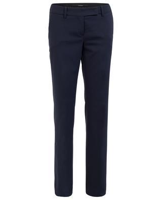 Pantalon à pinces en laine vierge WINDSOR