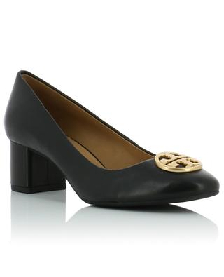 Chelsea 50 logo pumps TORY BURCH