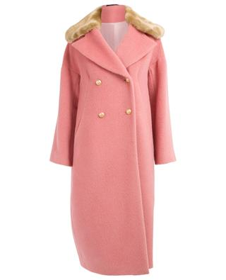 Raika lama and virgin wool coat TAGLIATORE