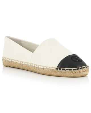 Color-Block bicolour leather espadrilles TORY BURCH