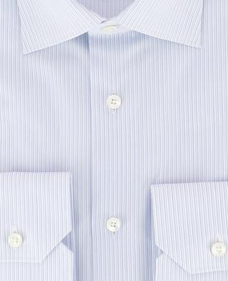 Striped cotton shirt ERMENEGILDO ZEGNA