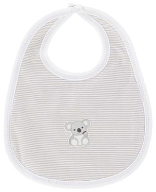Koala striped cotton bib MAGNOLIA BABY