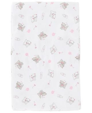 Couverture en coton imprimé Purrfectly Sweet MAGNOLIA BABY