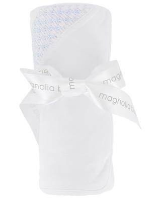 Smocked cotton blanket MAGNOLIA BABY
