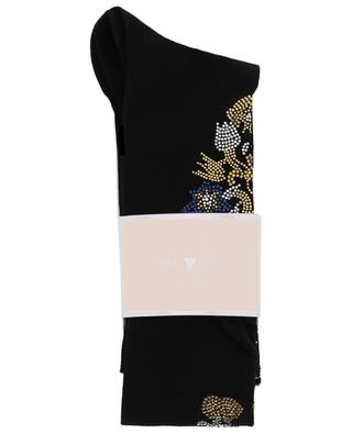 Bouquet crystal embellished socks STORY LORIS