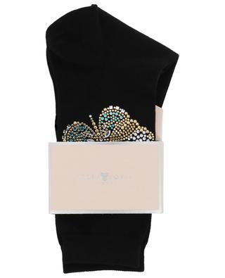 Chaussettes ornées de crystaux Farfalla STORY LORIS