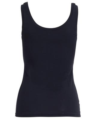 Silky Top modal tank top BLUE LEMON