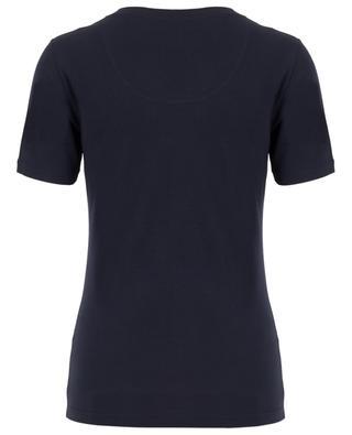 Urban Stretch modal T-shirt BLUE LEMON