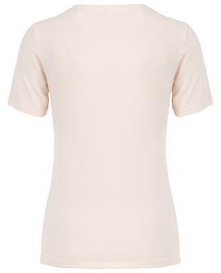 T-Shirt aus Modal Urban Stretch BLUE LEMON