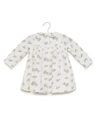 Printed dress with tights PETIT BATEAU