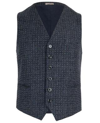 Gatsby wool and cotton vest ROSI COLLECTION