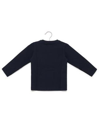 Sweat-shirt brodé en coton PER TE