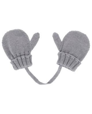 Virgin wool mittens IL TRENINO