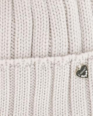 Fur embellished wool beanie IL TRENINO