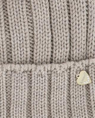 Wool and fur beanie IL TRENINO