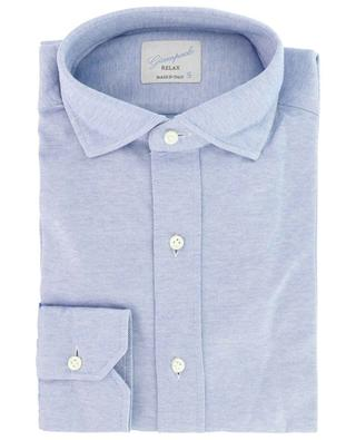 Relax cotton piqué shirt GIAMPAOLO