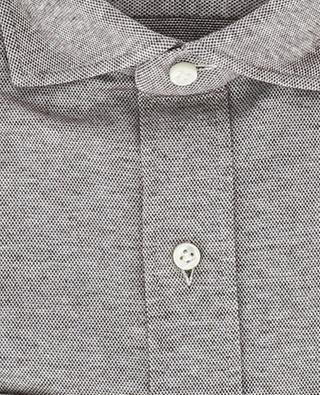 Relax cotton piqué shirt GIAMPAOLO