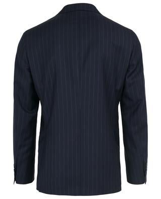 Striped virgin wool suit NAPOLI COUTURE