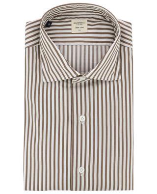 Gestreiftes Hemd aus Baumwolle MAZZARELLI