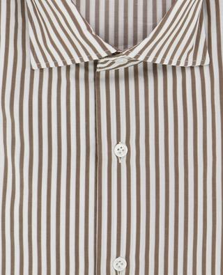 Chemise rayée en coton MAZZARELLI
