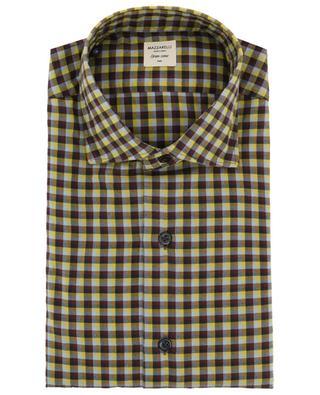 Kariertes Hemd aus Baumwolle MAZZARELLI