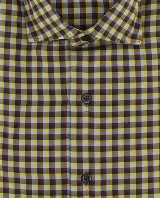 Chemise à carreaux en coton MAZZARELLI