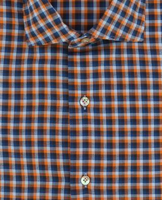 Cotton check shirt MAZZARELLI