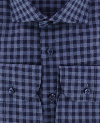 Kariertes Hemd aus Baumwolle ARTIGIANO