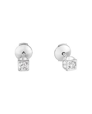 Le Cube white gold and diamond earrings DINH VAN