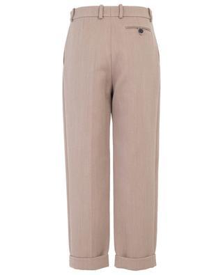 Pantalon épais à pinces VICTORIA BECKHAM