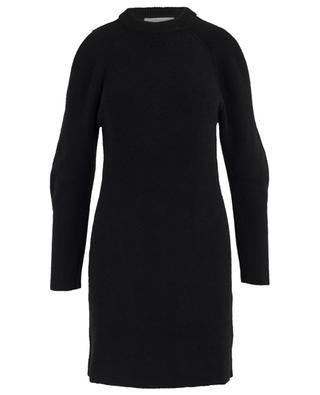 Wool and alpaca knit dress CHLOE