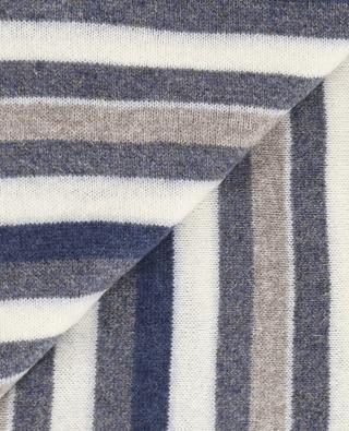Striped cashmere scarf FEDELI