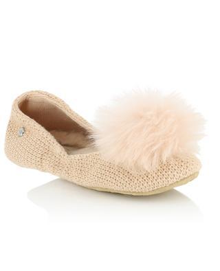 W Andi pompom slippers UGG