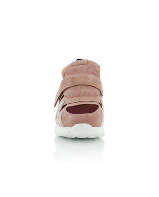 Slip-on Sneakers aus Wildleder und Mesh TOD'S
