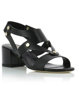 Heeled leather sandals TOD'S