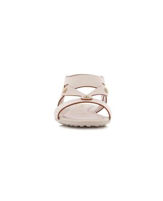 Textured leather elasticated sandals TOD'S