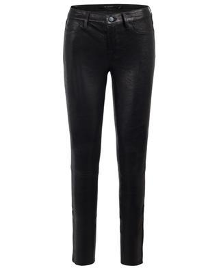 Mid-Rise leather leggings J BRAND