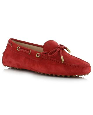 Gommino suede loafers TOD'S
